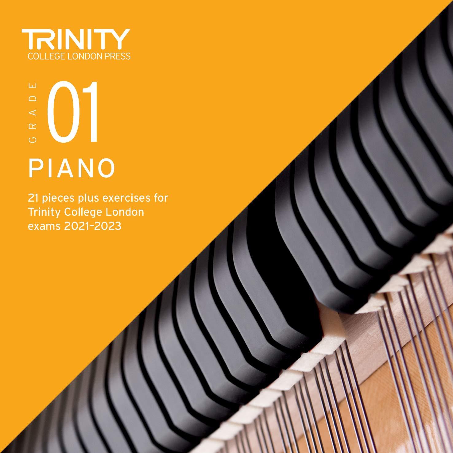 Trinity – Grade 1 Piano Pieces + Exercises (2021-2023)