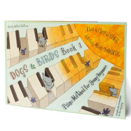 Dogs & Birds Blank Notes Edition (Book 1 or 2)